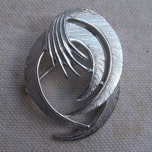 Unique Abstract Swirl Pin